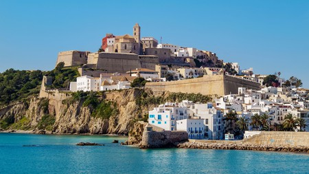 Dalt Vila, the historic district of Ibiza Town, is one of the must-visit neighbourhoods on the Balearic island