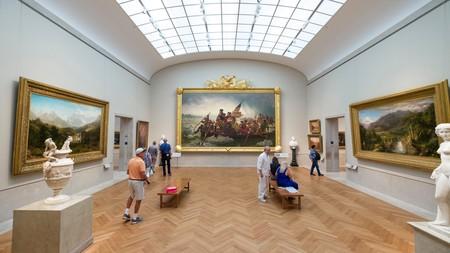'Washington Crossing the Delaware' by Emanuel Leutze in Gallery 760 at the Metropolitan Museum of Art