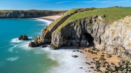 The Pembrokeshire coastline is home to some beautiful beaches