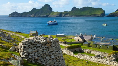 Hirta is the largest island in the St Kilda archipelago