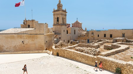 The Citadel is one of the must-see historic sights on Gozo