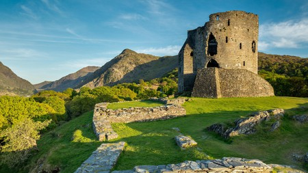 Explore Dolbadarn Castle in Llanberis on your next holiday in Snowdonia, Wales