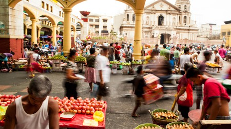 Quinta Market was once the main commerce space in Manila