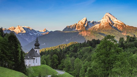 Like so many of Germany's national parks, Berchtesgaden National Park offers fairytale views of the country's varied natural landscape