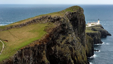 Neist Point was used as a filming location in Lars von Trier's 'Breaking the Waves'(1996)