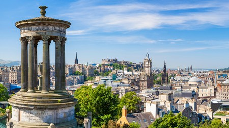 Take in panoramic views of Edinburgh from your very own apartment in the city