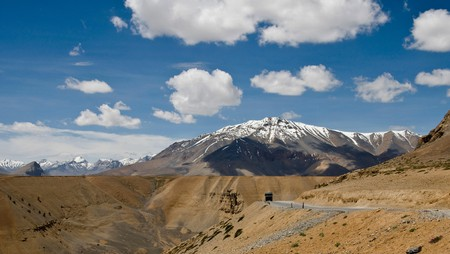 The Leh–Manali Highway has an average elevation of 4,000m