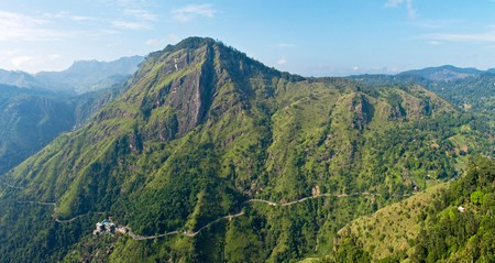 You don't need technical climbing experience to summit Adam's Peak, but the hike can take up to four hours