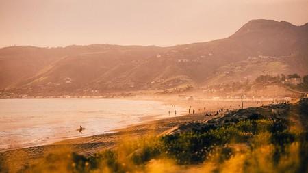 Malibu is a top surf spot on the California coast