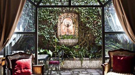 Enjoy the intimate setting of Mesón Panza Verde in Antigua, Guatemala