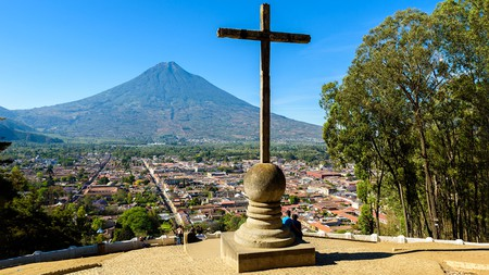 You can't miss the view from Cerro de la Cruz on a trip to Antigua
