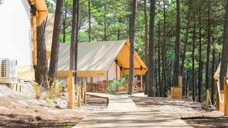 Enjoy the pine-forest setting and variety of accommodation options at Ohai Nazaré
