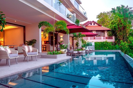 Leave your worries behind and relax by the pool at Patong Heights on your next trip to Thailand