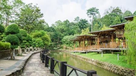 Celebrated Malaysian architect Eleena Jamil designed the Bamboo Playhouse in Kuala Lumpur