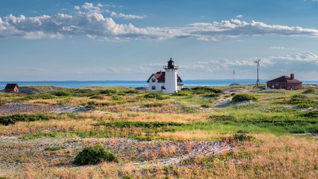 Provincetown and its beautiful surroundings, including the Race Point Lighthouse, are a short drive from Boston