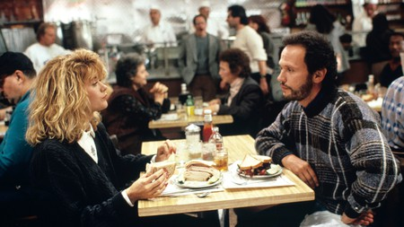 The famous scene between Meg Ryan and Billy Crystal in When Harry Met Sally (1989) was filmed at Katz's Delicatessen on the Lower East Side