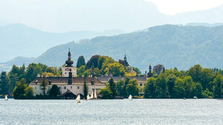 Dating back a millennium, Schloss Ort is one of the picturesque and historic castles you can explore in Austria