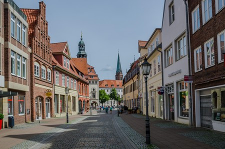 Visit historic Luneburg and stroll around the pretty medieval town centre