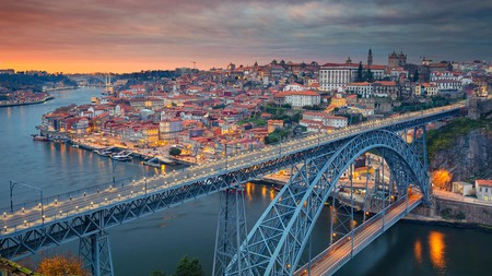 Experience fabulous views over the city and River Douro from the Luis I Bridge