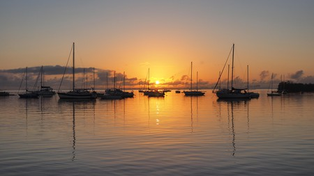 Catch an epic sunrise or sunset on a visit to Coconut Grove