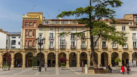 Escape the teeming tourists and head, instead, to the peaceful market square of foodie Logroño