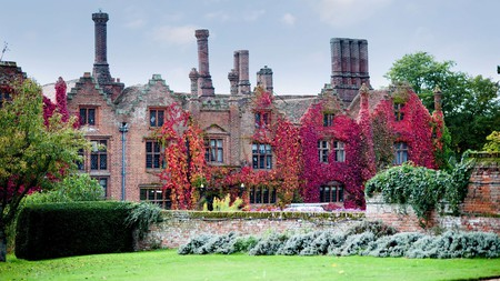 Queen Elizabeth I reportedly stayed at the 500-year-old Seckford Hall Hotel