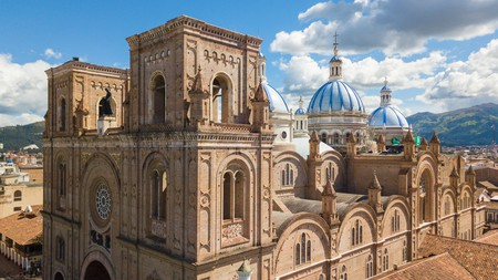 Make sure you visit the Cathedral of the Immaculate Conception in Cuenca, one of the most impressive architectural attractions in Ecuador