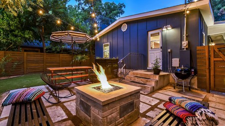 Kick back and relax in your own private outdoor space