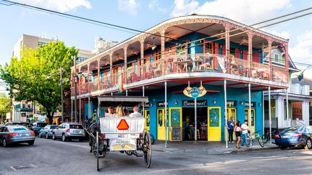 Frenchmen Street is a bustling spot adored by locals