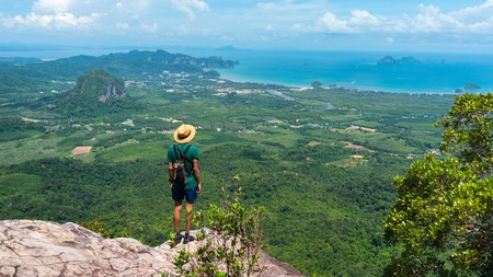 Hike the Khao Ngon Nak Trail to enjoy views over Ao Nang bay
