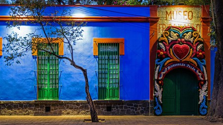 The former home of Frida Kahlo has been converted into a museum dedicated to the painter's life and work
