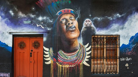 The area of La Candelaria in Bogota, Colombia's capital, is filled with unique graffiti