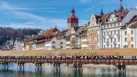 Spreuer Bridge is one place you can't miss on a trip to Lucerne