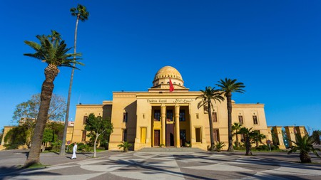 The Royal Theatre in Gueliz is a symbol of this modern quarter of Marrakech