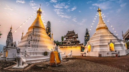 Phra That Doi Kong Mu Temple can't be missed on a trip to Mae Hong Son