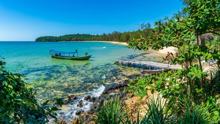 Koh Ta Kiev, off the west coast of Cambodia, is the perfect antidote to hectic city life