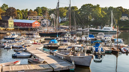 The peaceful seaside town of Camden is well known for its historic yacht club