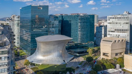 The Soumaya Museum displays the art collection of Mexican billionaire Carlos Slim