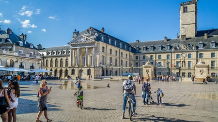 Get a flavour for the city with a stroll in the Place de la Liberation