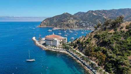 Spend some dollars at the Catalina Casino, or take a trip round Avalon harbor in a sailboat