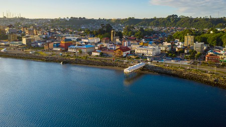 The city of Puerto Montt makes for an enjoyable stop along the Chilean coastline before a visit to the nearby Chiloe Islands