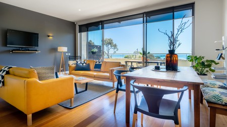 Aquabelle has seven apartments, all decked out with bright modern finishings