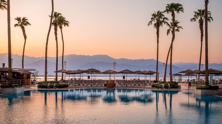 The Aria is set right by HaDayagim Beach in Eilat, Israel