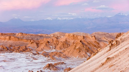 A visit to the Valley of the Moon in the heart of the Atacama Desert is amongst one of the best destinations to visit in Chile