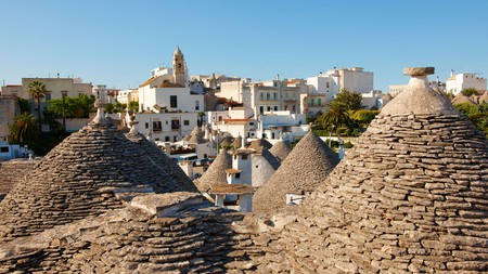 The Trulli of Alberobello are some of Puglia's most iconic structures, with many now converted to luxury accommodation