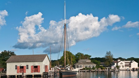 Visit the Mystic Seaport to experience one of the most beautiful towns in Connecticut