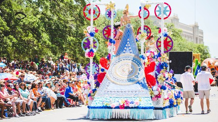 The Battle of the Flowers parade can gather as many as 300,000 spectators, so head over early to grab a seat