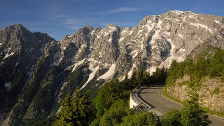 Scenic views of the Hoher Goll mountain are just one reason to visit Berchtesgaden in Germany