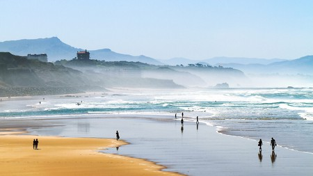 Biarritz is home to the wildest, most windswept beaches in France