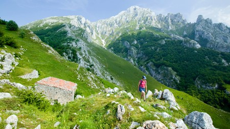 Visit the Asturias region in northwest Spain to hike in the Picos de Europa National Park